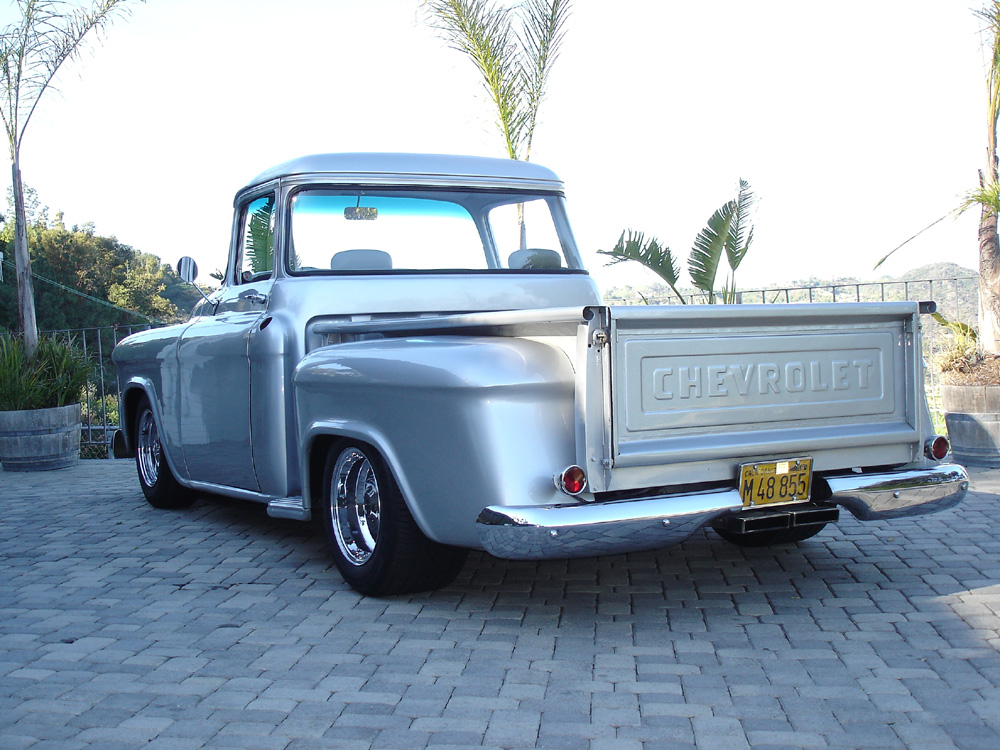 custom truck belts 1956 chevy truck for sale
